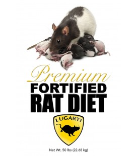 Premium Fortified Rat Diet - 50 lbs