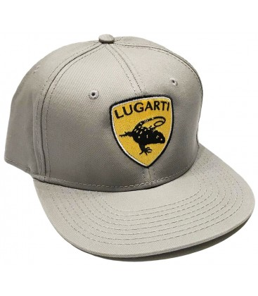 Hat - Croc Monitor - Silver (Snap Back)