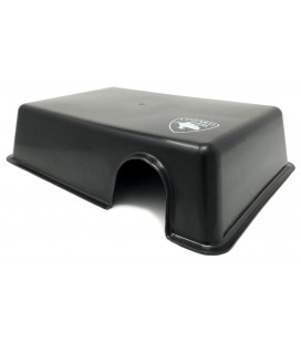 Reptile Hide Box - Black