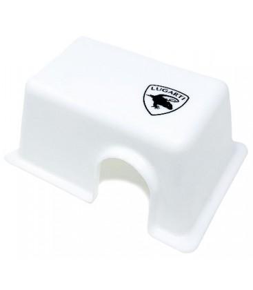 Reptile Hide Box - White