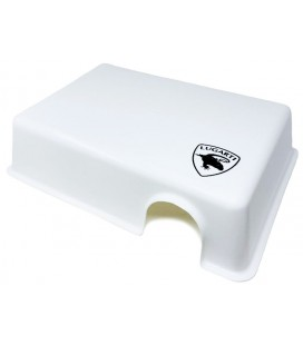 Reptile Hide Box - White