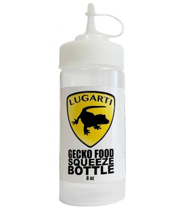 Gecko Food Squeeze Bottle - 8 oz