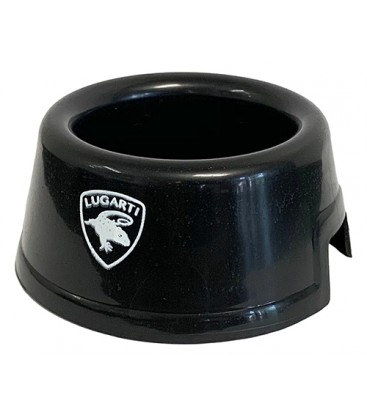 Round Water Bowl - Black