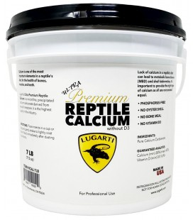 Ultra Premium Reptile Calcium - BULK (without D3)