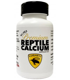 Ultra Premium Reptile Calcium (without D3)