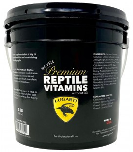 Ultra Premium Reptile Vitamins - BULK (without D3)